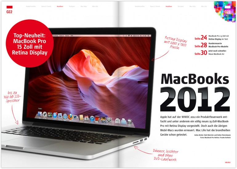 Mac Life 08.2012: Brandneue MacBooks u. v. m.