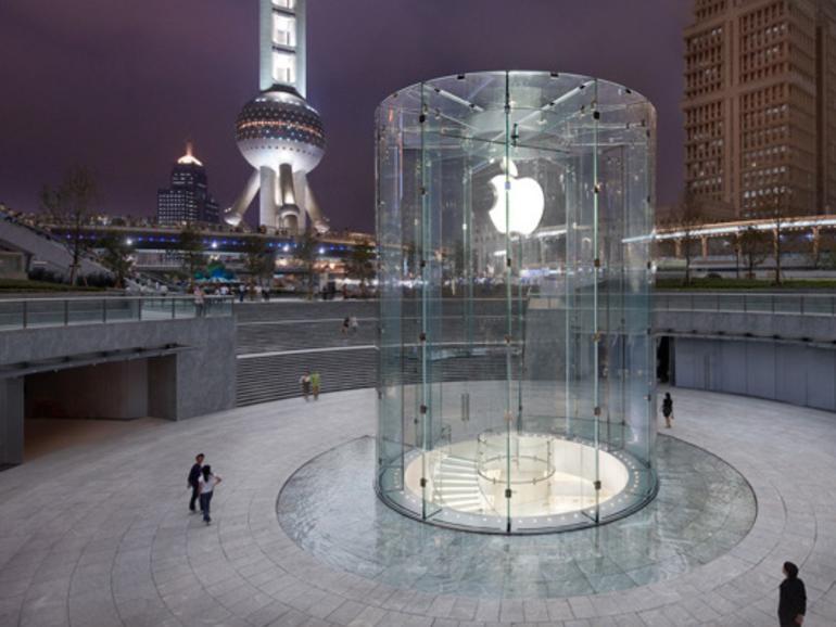 Apple in China mit weniger Ladengeschäften vertreten als im US-Bundesstaat Pennsylvania