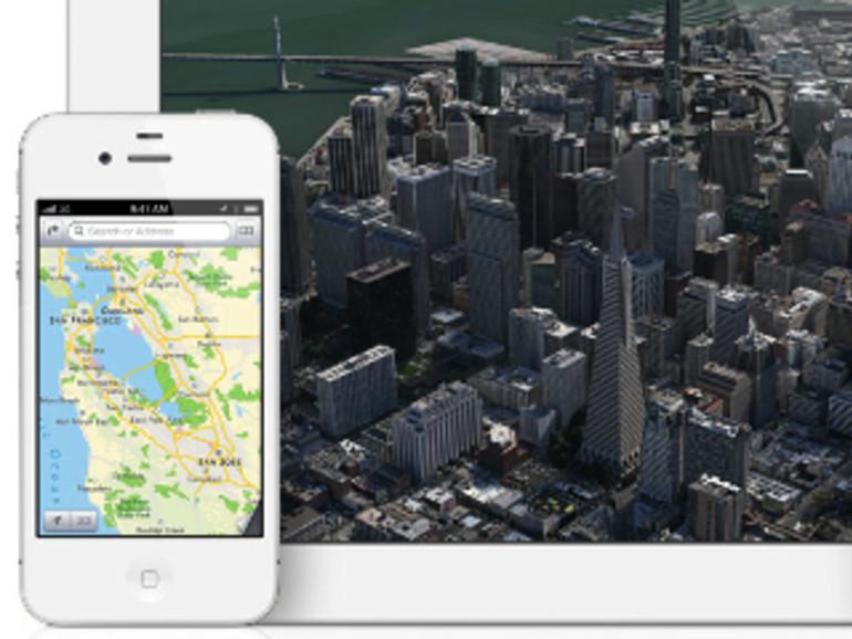 iOS 6 bietet weitere Städte in 3D