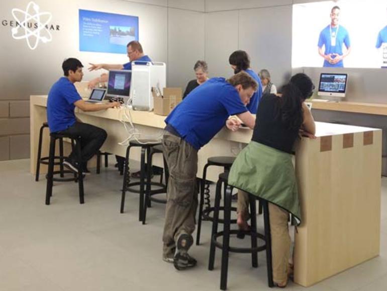 Mehr Kapazität: Apple optimiert die Genius Bar