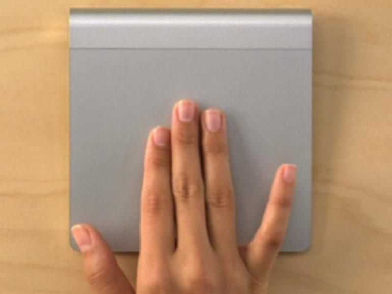 OS X Mountain Lion: Vorschau per Geste, Drei-Finger-Tipp als Alternative zur Leertaste