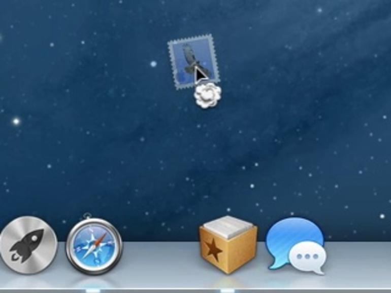 OS X Mountain Lion: Symbole aus dem Dock oder der Finder-Seitenleiste löschen