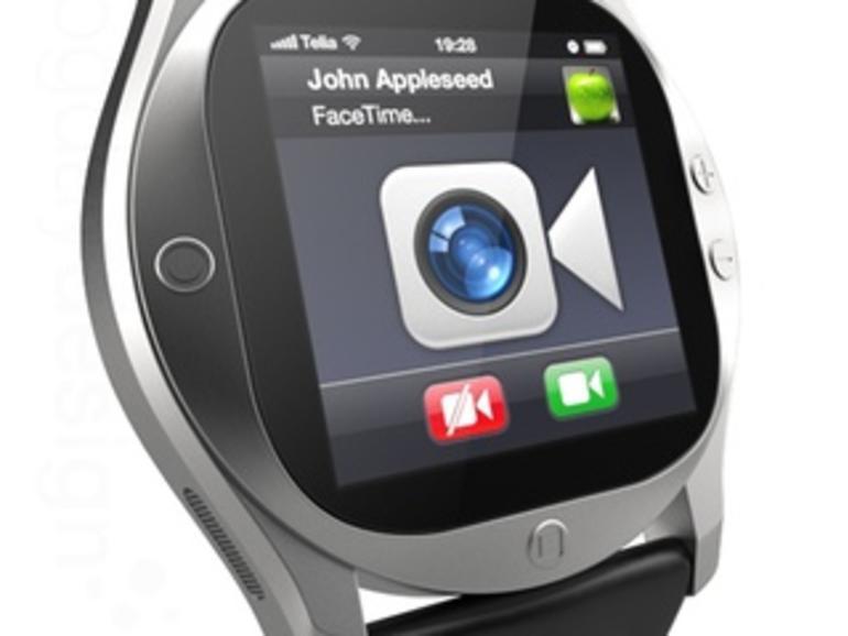 iWatch: Schwede zeigt Konzeptstudie einer Apple-Armbanduhr