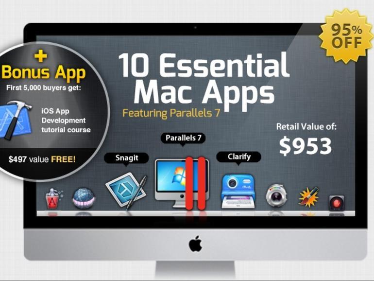 StackSocial iStack Mac Bundle: Neun Mac-Apps inklusive Parallels Desktop 7 zum Sonderpreis