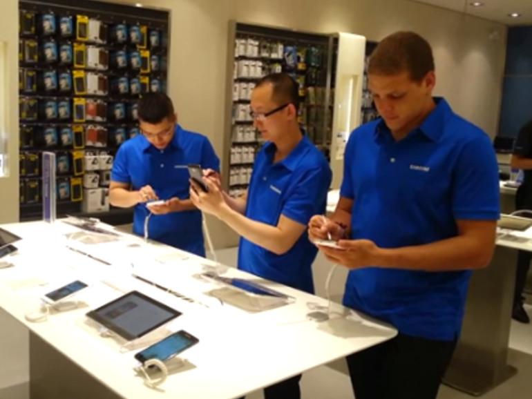 Samsung eröffnet ersten eigenen Laden in Nordamerika