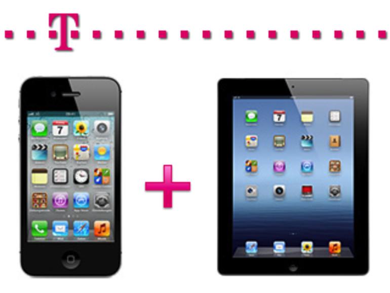 Telekom-Schnäppchen: iPhone 4S refurbished und iPhone- & iPad-Paketangebot
