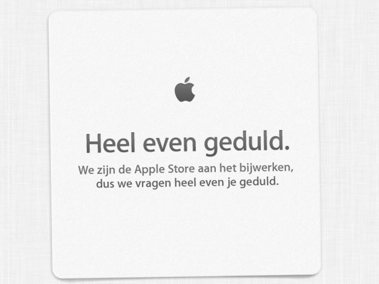 Apple Store ist offline, Apple gibt Fremdsprachenunterricht