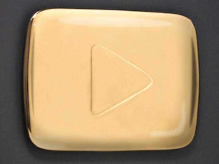 YouTube ehrt erfolgreiche Kanäle