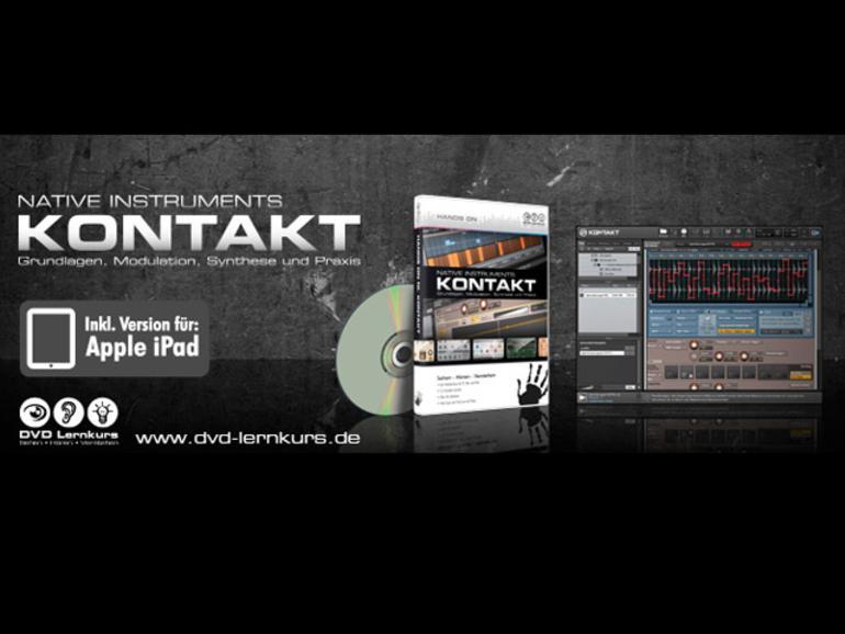 Hands On Kontakt - DVD Lernkurs