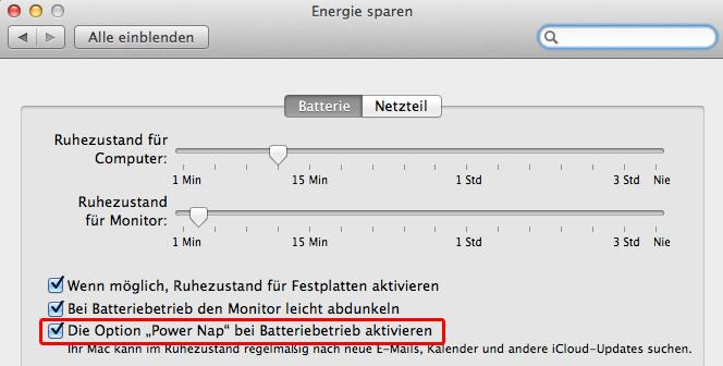 Apple klärt auf: Das bringt Power Nap in Mountain Lion