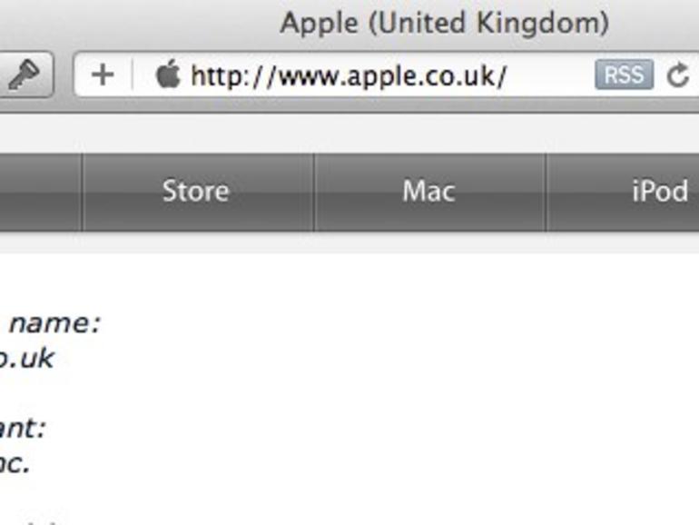 Apple.co.uk: Apple sichert sich Domain in Großbritannien