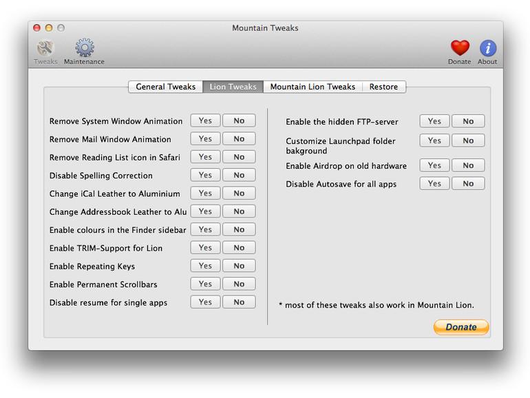 OS X Lion und Mountain Lion: Leder-Imitat aus Adressbuch und iCal entfernen
