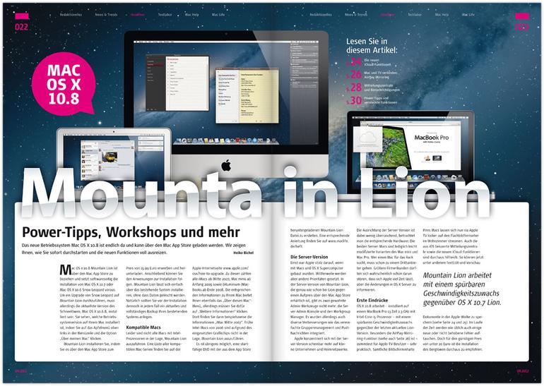 Mac Life 09.2012: Power-Tipps zu Mountain Lion u. v. m.