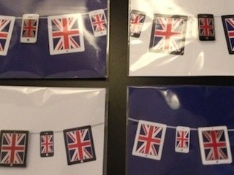 Olympia 2012: Londoner Apple Stores bekommen iPhone- und iPad-Anstecknadeln