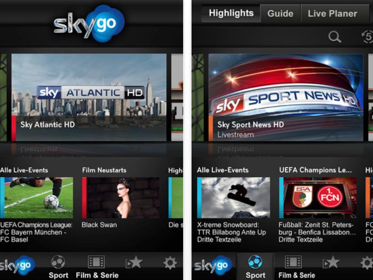 Sky Go: Pay-TV demnächst als eigenständiges Angebot für iPhone und iPad
