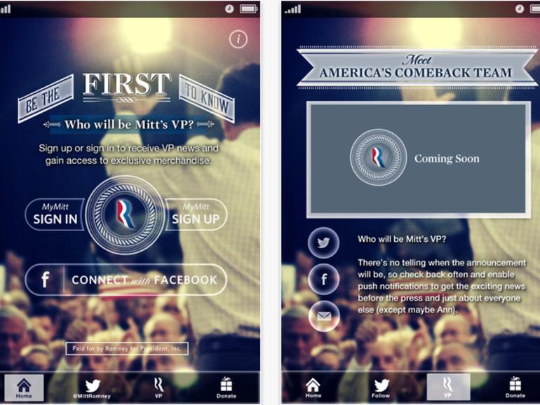 US-amerikanischer Präsidentschaftswahlkampf: There's an app for that …