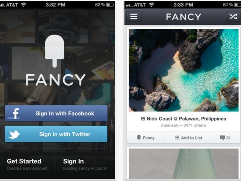 """Pinterest-Konkurrent: Kauft Apple das soziale Netzwerk """"The Fancy""""?"""