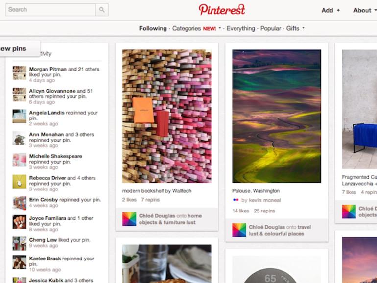 Soziales Netzwerk Pinterest nun für alle offen