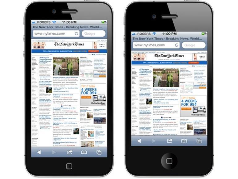 So könnten Apps auf dem neuen iPhone aussehen
