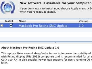 MacBook Pro mit Retina Display: Dank Firmware-Update fit für Power Nap