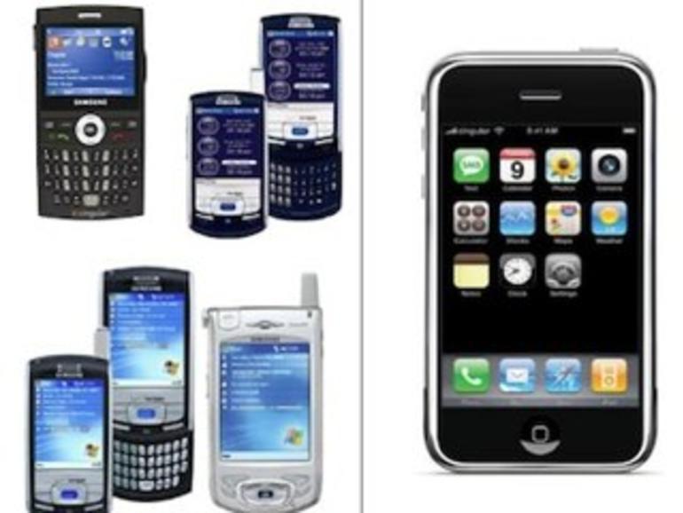 Prozessunterlagen: So sahen Samsung-Smartphones vor und nach Erscheinen des iPhone aus