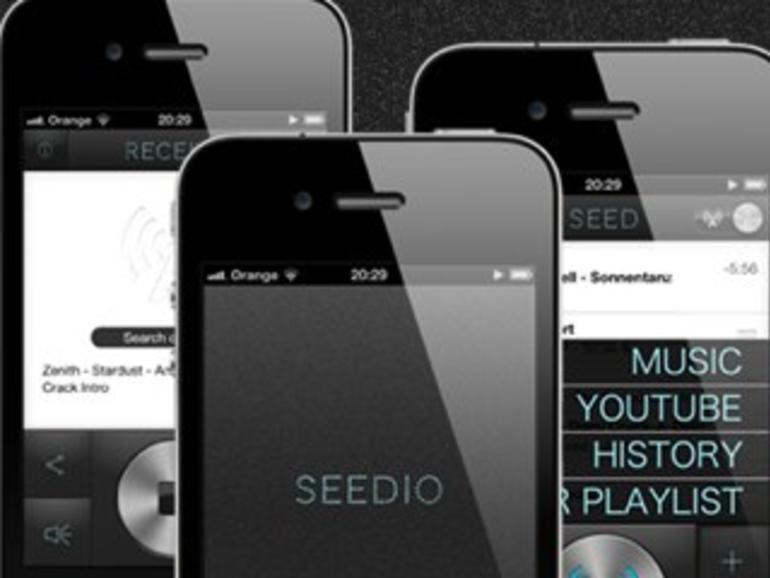 Seedio: Neue iOS-App streamt Musik per WLAN an mehrere iPhones