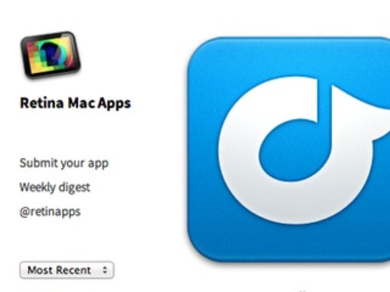 Extra scharf: Webseite listet Apps für MacBook Pro mit Retina-Display