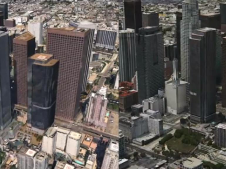Video vergleicht 3D-Karten in Google Earth und iOS 6