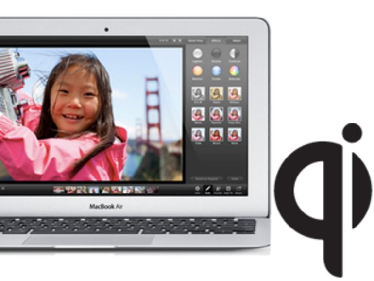 Nächste MacBook-Air-Generation könnte das iPhone drahtlos aufladen