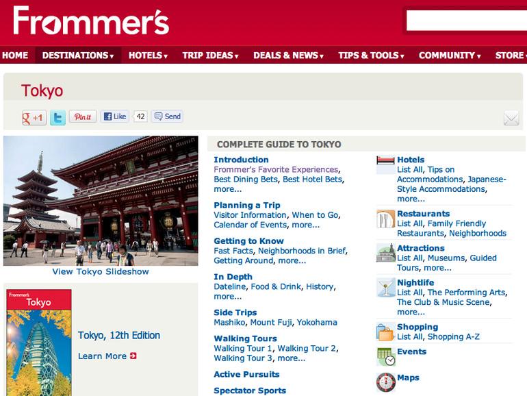 Google übernimmt Reiseführer Frommer's