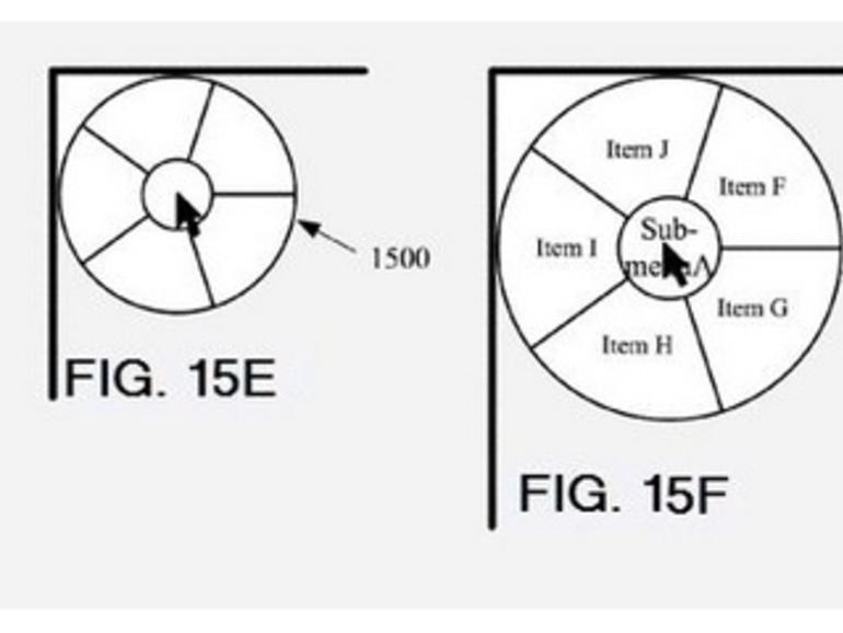 """Apple lässt """"runde Menüs"""" für iOS und OS X patentieren"""