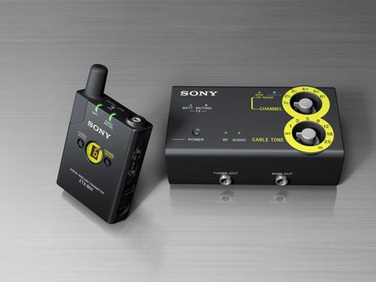 Sony DWZ-Serie - Ohne Kabel auf der Bühne