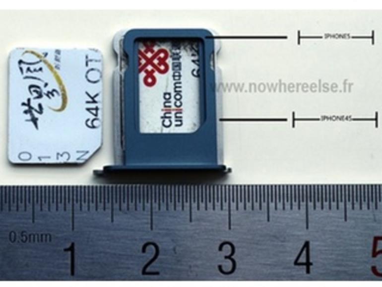 Video zeigt Halterung für Nano-SIM und Micro-SIM im Vergleich