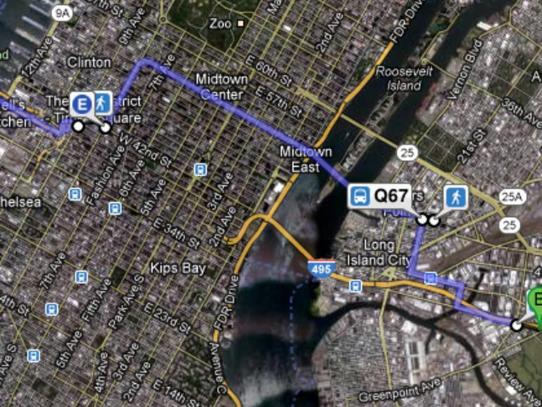 Google feiert eine Million ÖPNV-Haltestellen in Maps