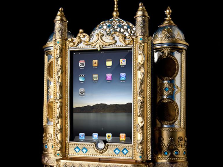 Netzfundstück: iPad TonSchrein