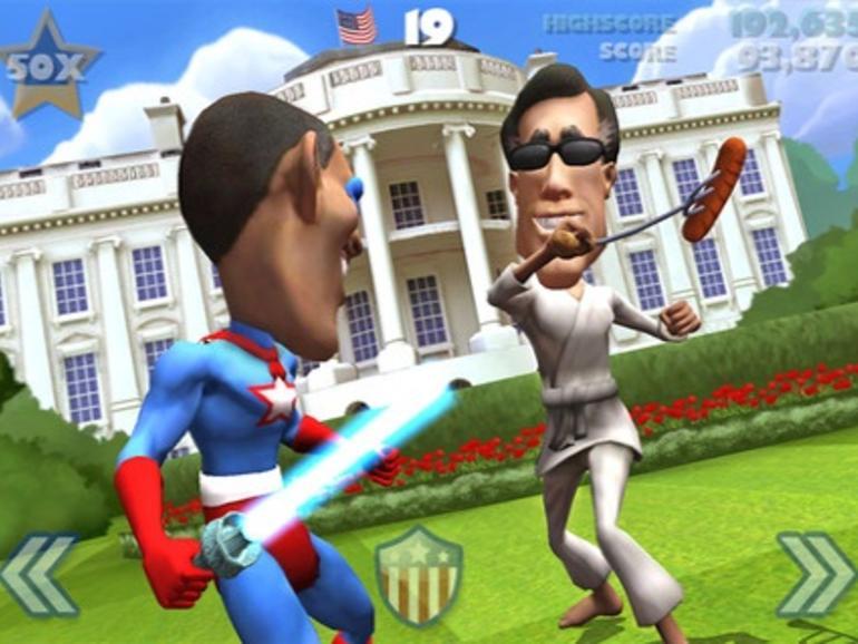 VOTE!!!: Kostenloser Infinity-Blade-Ableger bringt US-Präsidentschaftswahlkampf auf das iPhone