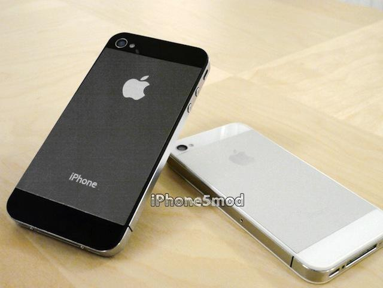 iPhone-Mod-Kit bietet iPhone-5-Rückseite für iPhone 4/4S an