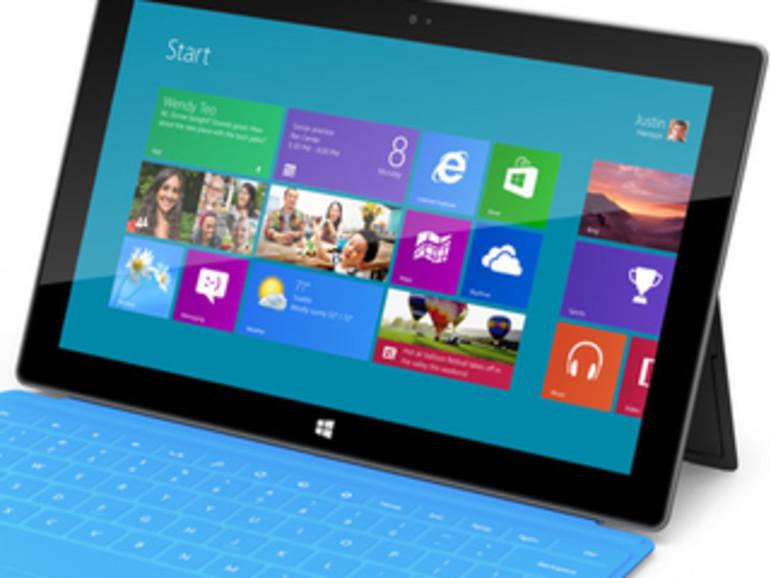 Microsoft: Surface-Display dem iPad-Bildschirm überlegen