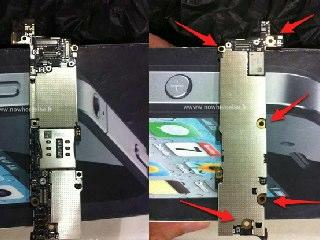 Neue Fotos sollen Logic Board des iPhone 5 zeigen