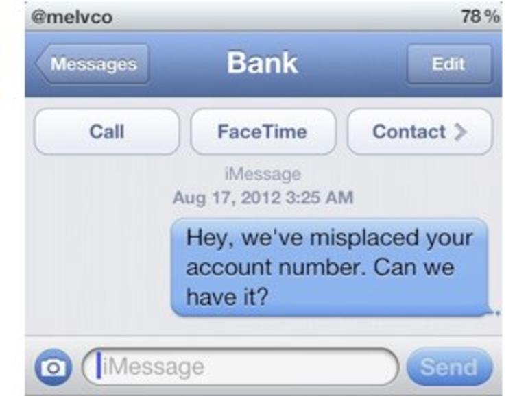 SMS-Sicherheitslücke: Apple schlägt iMessage als Alternative vor