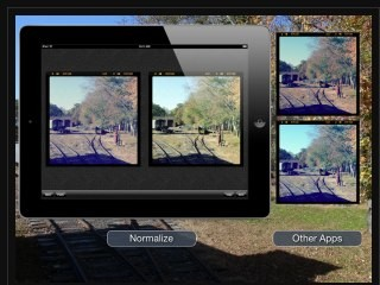 Normalize: iPhone-App entfernt Instagram-Filter