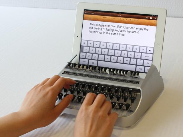 Netzfundstück: Das iPad als Schreibmaschine