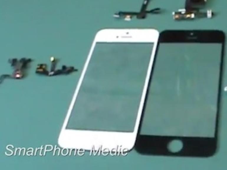 iPhone 5: Video vergleicht Bauteile mit Vorgängermodell & Foto zeigt Logicboard