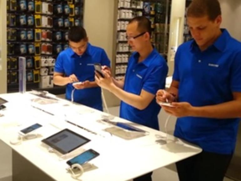 Samsung klont den Apple Store
