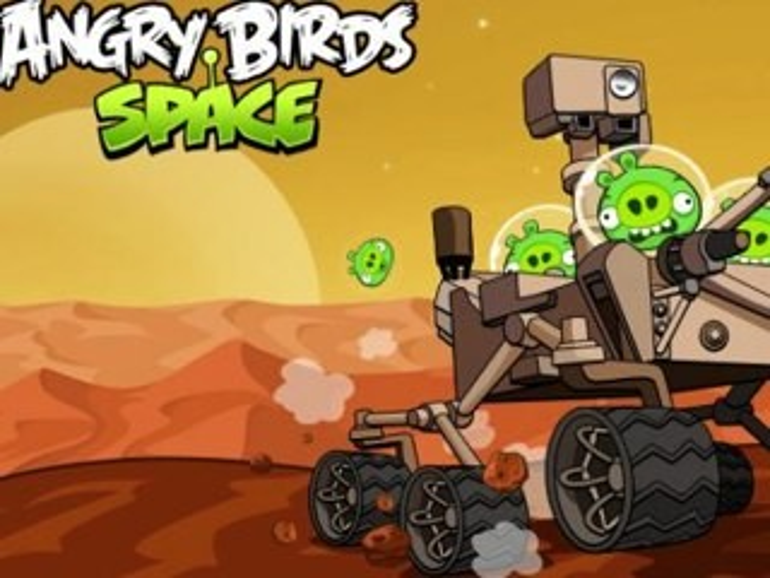 Angry Birds Space: Nach Update mit Bezug auf Curiosity Mars Rover