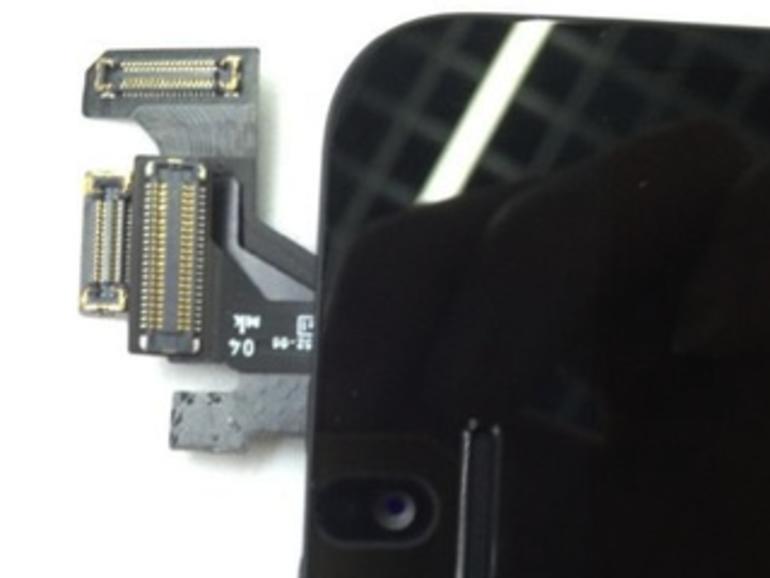 iPhone 5: Fotos zeigen komplett bestückte Vorderseite