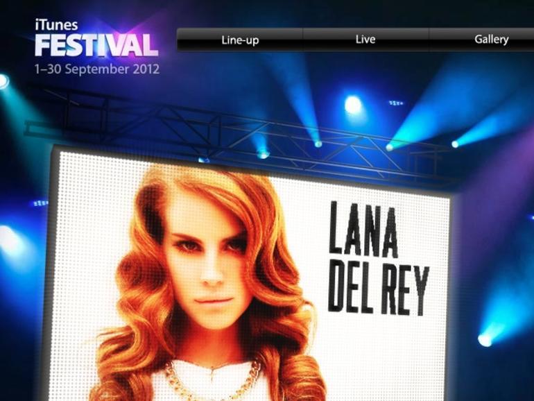 iTunes Festival 2012: Live-Streaming auf das Apple TV