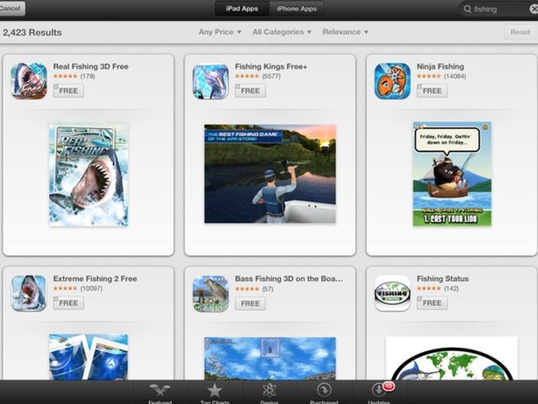 iOS 6: Suchergebnisse in App-Store-App neu aufbereitet