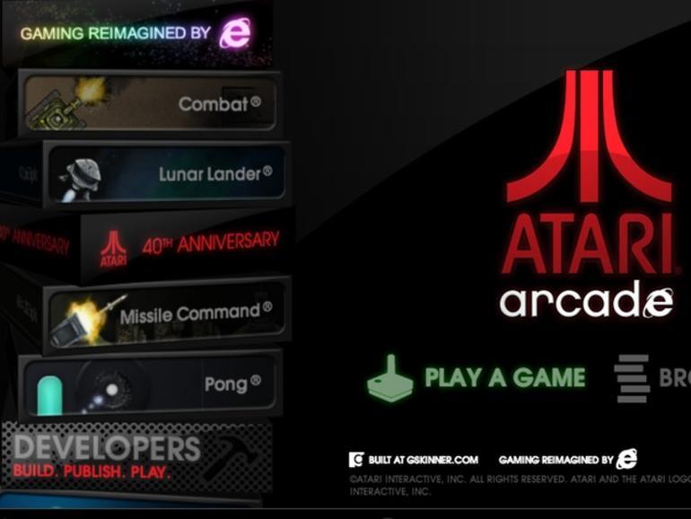 Atari Arcade: Spieleklassiker in HTML5 umgesetzt, spielbar im Browser