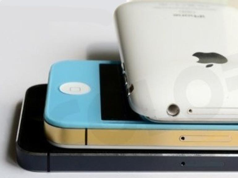 Dünn, dünner, iPhone 5: Neue Fotos zeigen iPhone-Modelle im Vergleich
